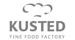 Kusted fine food factory logo